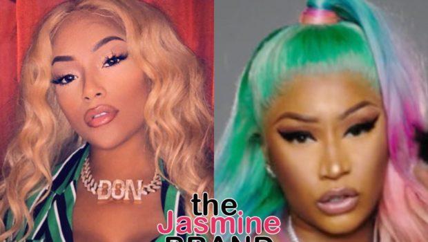 Stefflon Don Trolls Nicki Minaj Fans, Compares Them To Garbage