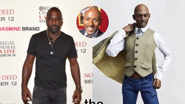 Idris Elba Doll Misses The Mark, Resembling Romany Malco [Photos]