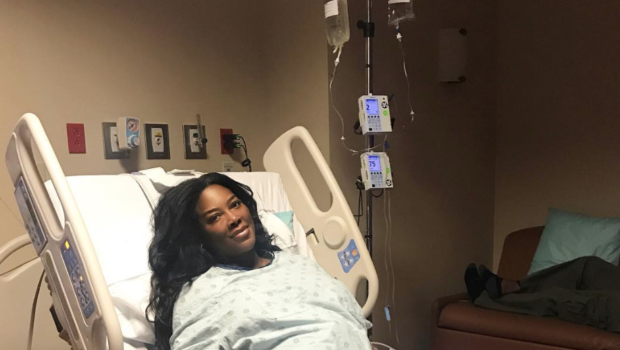 Kenya Moore Having 'Tough' Recovery, After Having Complications During Labor