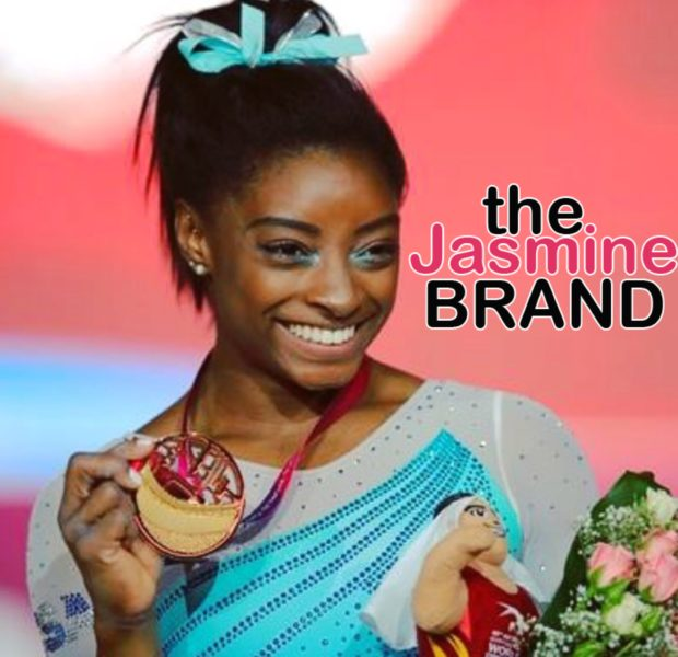 Simone Biles Makes History As 1st  Woman To Earn 4 All-Around World Gymnastic Titles