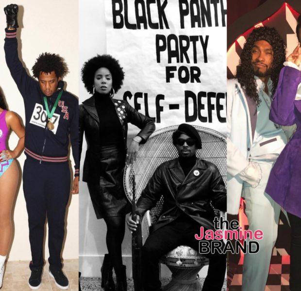 """Beyonce, Jay Z, Miguel & Diddy Attend Star-Studded """"Boo Bash"""" Halloween Party"""