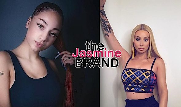 Bhad Bhabie Tries To Attack Iggy Azalea, Throws Drink On Her [VIDEO]