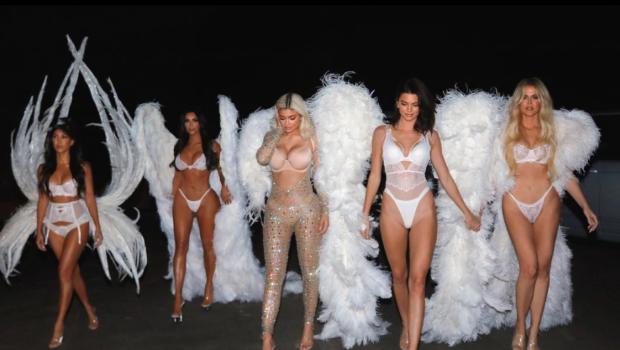 Victoria's Secret Lends Kardashians Authentic VS Angels Costumes For Halloween