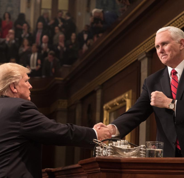 Mike Pence Blasts Oprah & Other Celebs For Backing Stacey Abrams