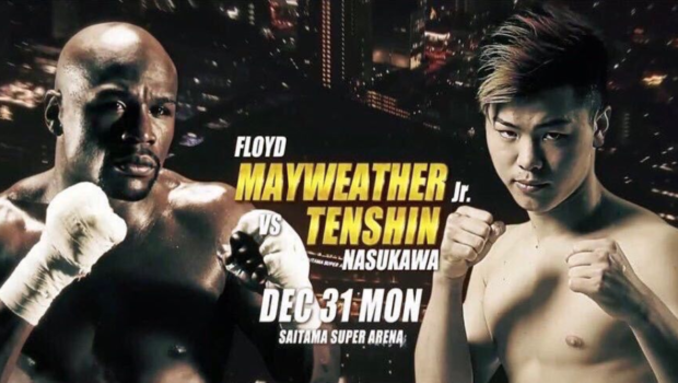 Floyd Mayweather Returns To The Ring, Fighting Kickboxer Tenshin Nasukawa In Japan