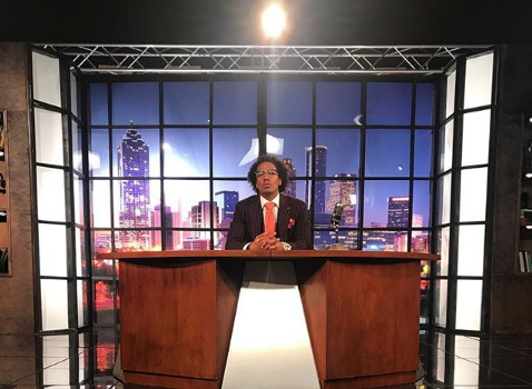 Nick Cannon Spotted Filming New Late Night Talk Show