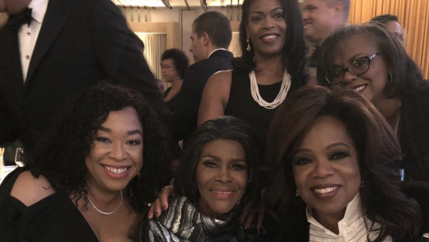 Cicely Tyson Receiving Her 1st Oscar: Oprah, Shonda Rhimes, Spike Lee, Tyler Perry Help Her Celebrate