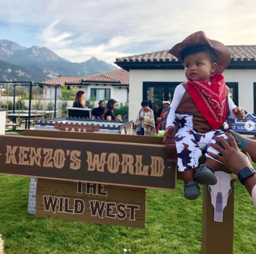 Kevin Hart Celebrates Son's 1st Birthday W/ Cowboys & Indians Themed Bash