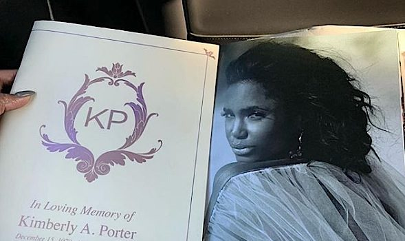 Kim Porter Funeral – Son Quincy Breaks Down, Fireworks Display & Celebs Pay Final Respect