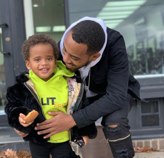 Angela Simmons' Brother Steps In As Father Figures For Her Son [Photo]