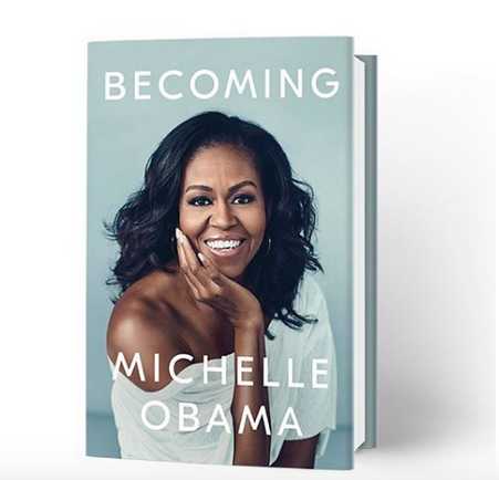 "Michelle Obama's ""Becoming"" Best Selling Book Of 2018"