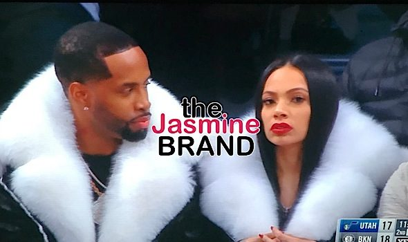 Safaree Samuels Dating Erica Mena? Rumors Sparked After NBA Outing In Matching Furs [VIDEO]