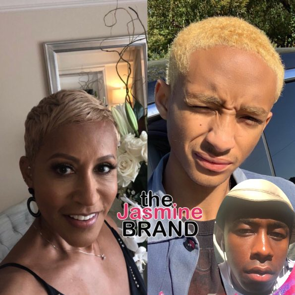 Jaden's Grandmother Responds To Jaden Smith Saying Tyler Creator Is His Boyfriend
