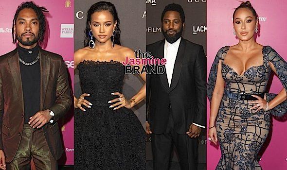 Kim Kardashian, Andra Day, Zoe Kravitz, Misty Copeland, Miguel, Karrueche Tran, John David Washington, Adrienne Bailon [Celebrity Stalking]