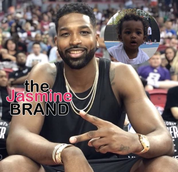 Tristan Thompson Pens Sweet Message To Son He Shares w/ Ex Jordan Craig