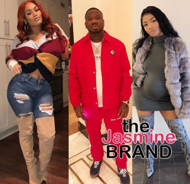 Quality Control Music CEO Pierre Thomas Impregnates 2 Women At Once: Fiance Lira Galore & Kaylar Will