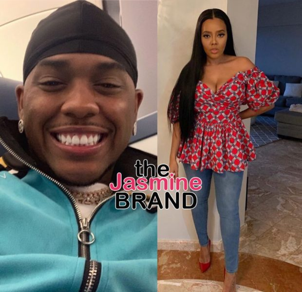 Angela Simmons Dating London On Tha Track? Producer's Baby Mother Responds: We Have A Whole Family!
