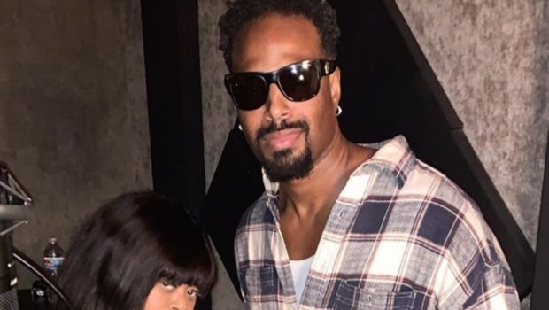 Countess Vaughn Spotted In The Studio W/ Shawn Wayans [Photo]