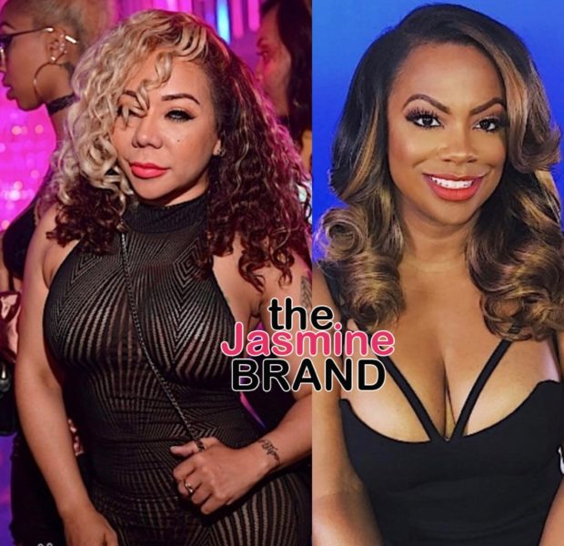 Kandi Burruss & Tiny Harris Have NEVER Hooked Up: Absolutely Not! [VIDEO]