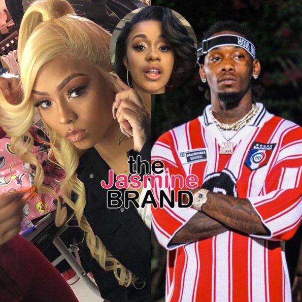 dffb9e0aa797 Offset Allegedly Caught Cheating On Cardi B w  Cuban Doll