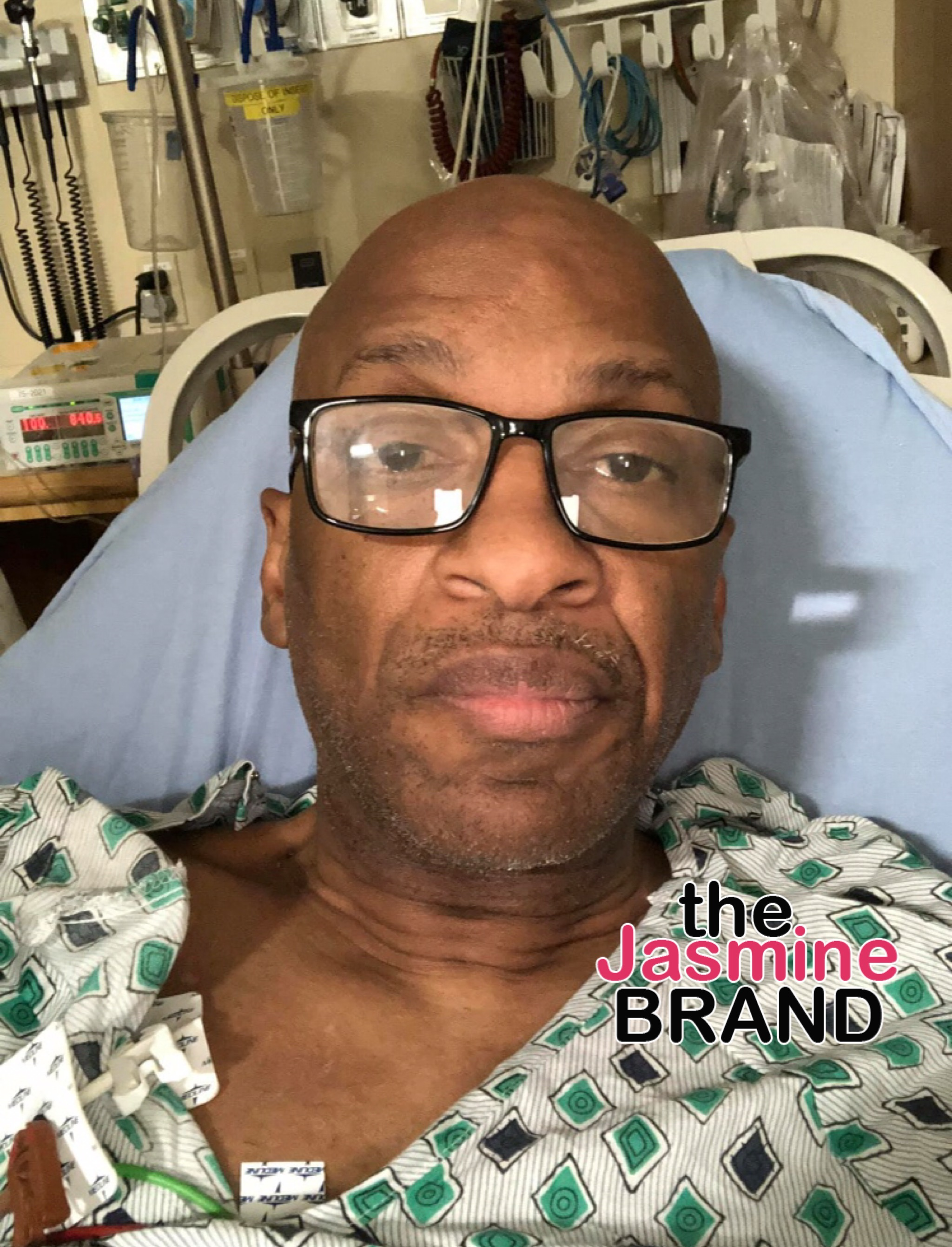 Gospel Singer Donnie Mcclurkin Crashes Car After Falling Asleep At