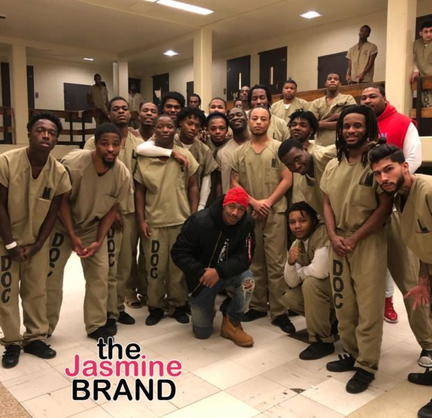 Nick Cannon Visits Chicago Jail [Photo]