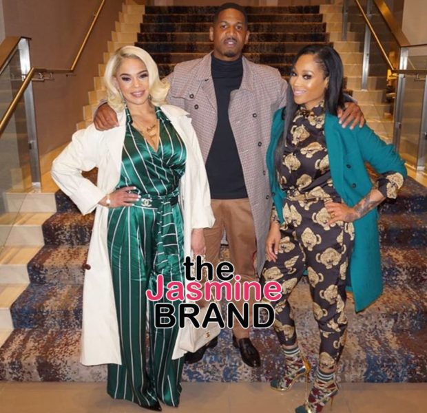 Stevie J Thanks God For Wife Faith Evans & Ex Girlfriend Mimi Faust [Photo]