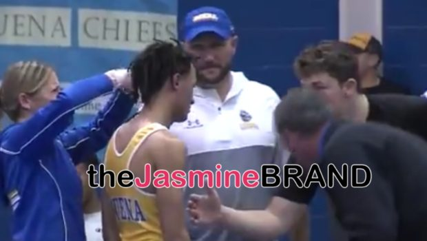 High School Wrestler Forced By Referee To Cut Dreadlocks Or Be Forced To Forfeit Match
