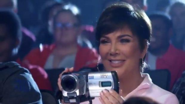 "Kim Kardashian Says Mom Kris Jenner Obsessed With Her ""Thank U, Next"" Cameo"