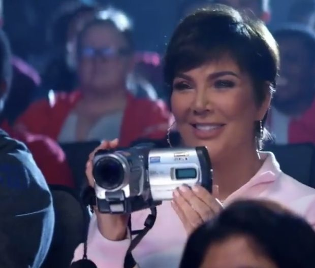 "Kim Kardashian Says Mom Kris Jenner Obsessed With Her ""Thank U, Next"" Cameo"