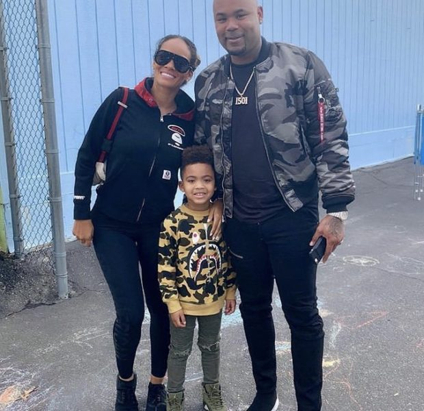 Evelyn Lozada & Ex Carl Crawford Surprise Son At School [VIDEO]