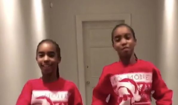 Diddy's Twin Girls Turn 12, Design Sweater Inspired By Their Dad [VIDEO]