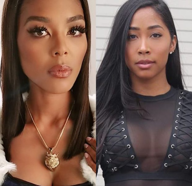 Love & Hip Hop's Moniece Slaughter & Apryl Jones Exchange Words Over Lil Fizz