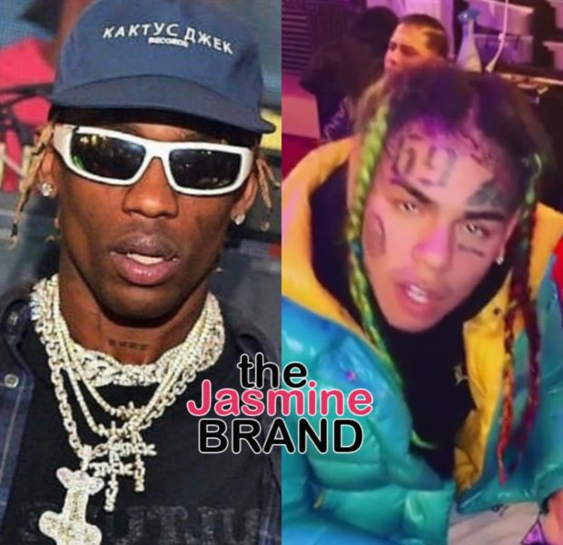Tekashi 69 & Travis Scott's Album Sales Under Review After Billboard Inaccurately Reports Travis Scott Has The #1 Album