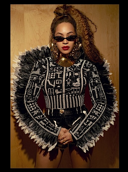 Beyonce Serves Balmain, Versace & Ashi Studio Fashion For Mandela 100 [Photos]