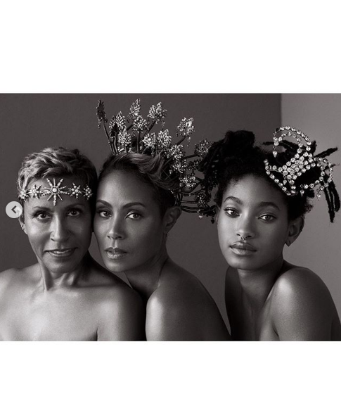 Jada Pinkett-Smith, Mother Adrienne Norris & Daughter Willow Smith Are 3 Generations of Queenin'!