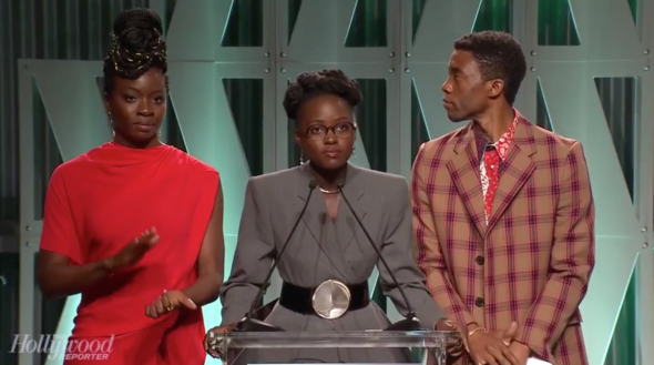 'Black Panther' Stars Surprise Student With A $250,000  College Scholarship