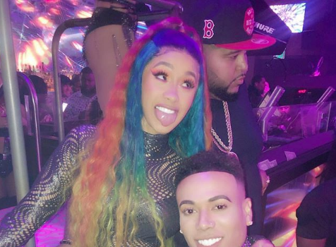 Newly Single Cardi B Parties In Miami [VIDEO]