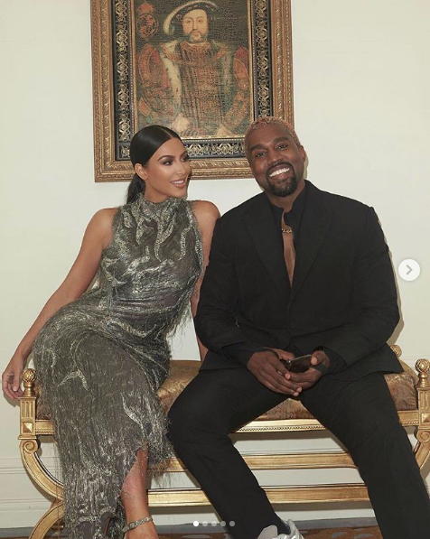 Kanye Is All Smiles On Date Night w/ Kim Kardashian [Photo]
