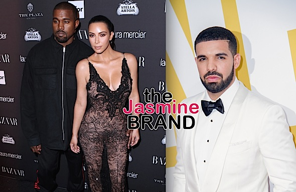 Kanye Says Drake Is Threatening His Family, Kim Kardashian Interjects Herself Into Beef: He Paved The Way For You!