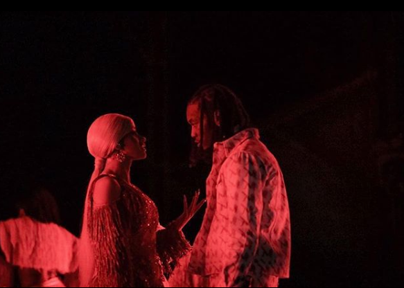 Offset Explains Why He Interrupted Cardi B's Set