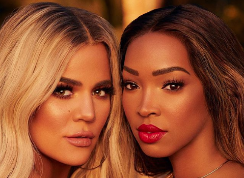 Khloe Kardashian & BFF Malika Haqq Enter Beauty Business Together