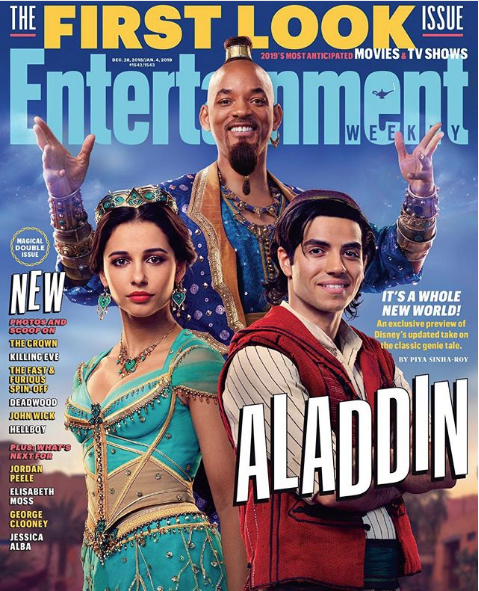 Will Smith Transforms Into Genie For 'Aladdin' [1st Look]
