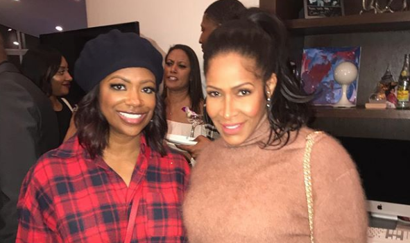 Kandi Burruss Reunites w/ Ex RHOA Star Sheree Whitfield [Photo]