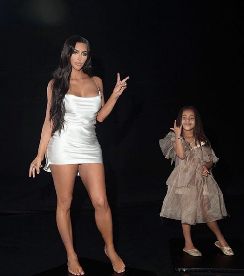 North West Directs New Shoot w/ Mom Kim Kardashian