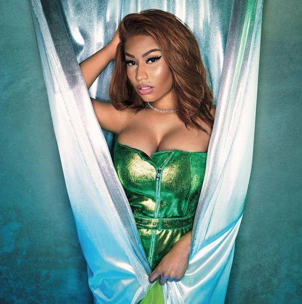 Nicki Minaj Transforms In New Vogue Japan Shoot, Lil Kim Seemingly Shades Her
