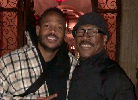 Marlon Wayans Recalls Eddie Murphy Visiting Him In The Projects [Photo]