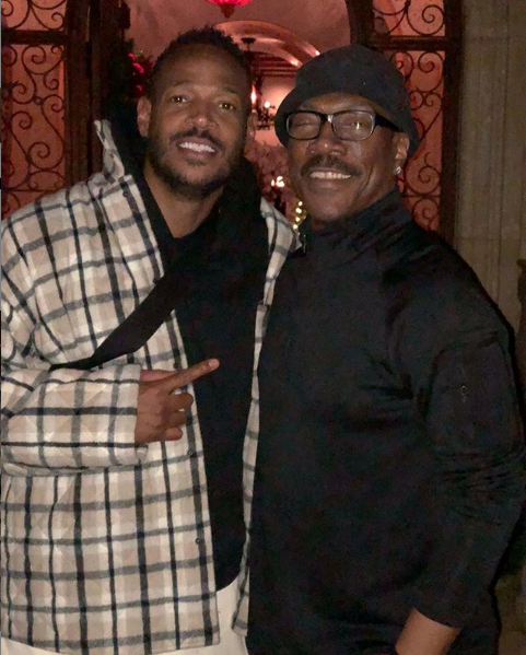 Marlon Wayans Recalls Eddie Murphy Visiting Him In The Projects [Photo]