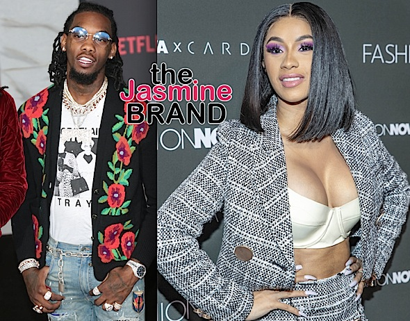 Cardi B & Offset Make 1st Public Appearance Together, Kissing On Grammys Red Carpet!