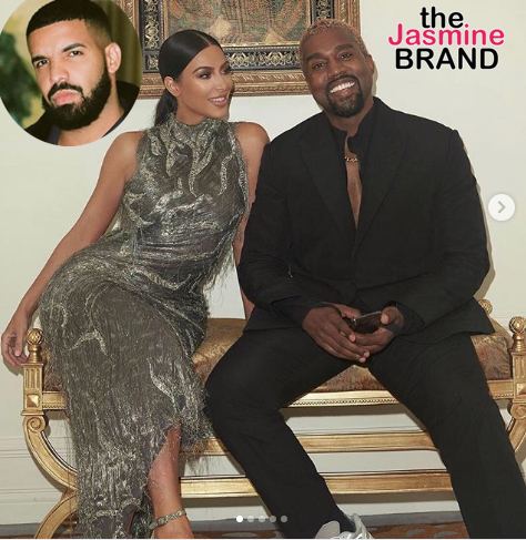 Kanye Starts New Beef w/ Drake – He's Following My Wife On Social Media & It's F**ked Up!